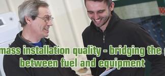 Biomass installation quality WHA site