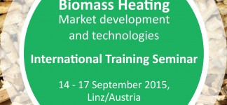 International Training Seminar Biomass Heating