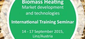 International Training Seminar Biomass Heating