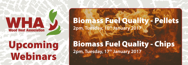 Webinar: Biomass Fuel Quality – Wood Pellets & Chip