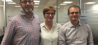 Congratulations to  Neil Harrison, the new chair (left) &  Julian Morgan Jones now Deputy Chair. Here with REA CEO Nina Skorupska the first WHA board meeting.