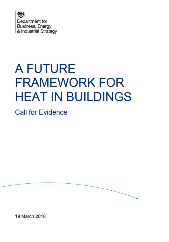 WHA respond to Call for Evidence on A future framework for heat in buildings