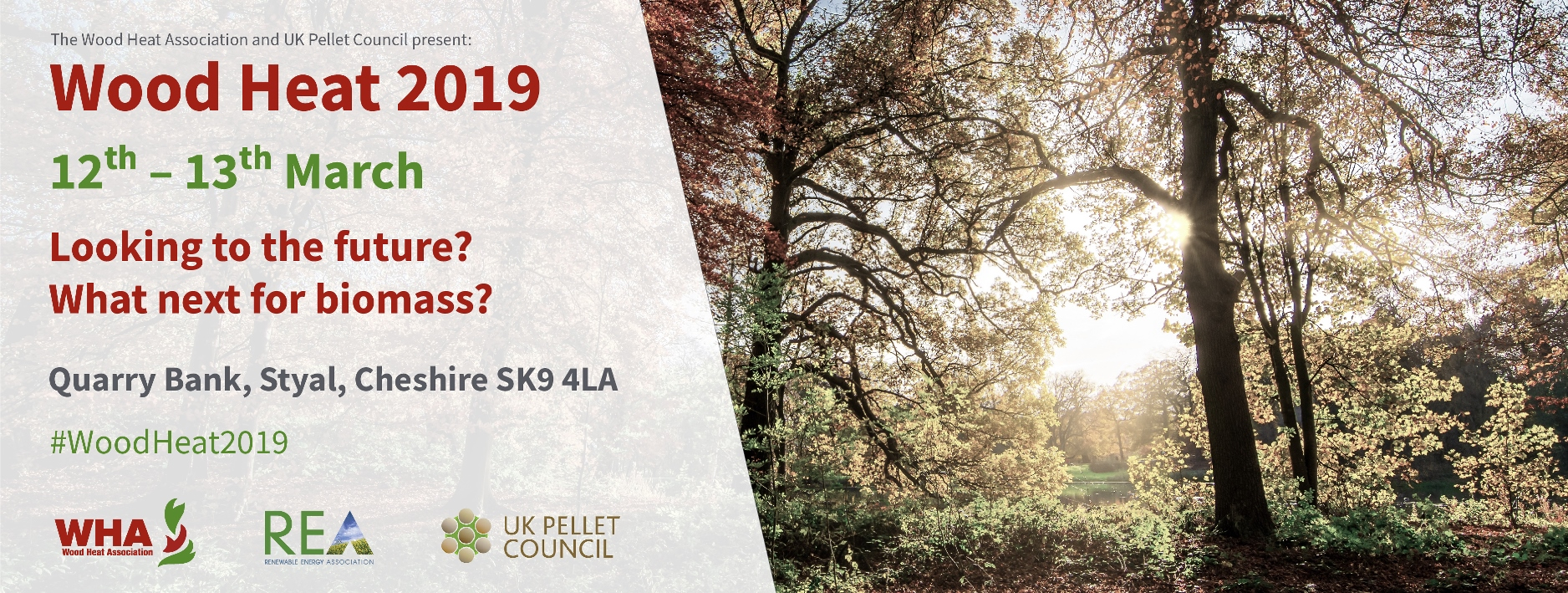 WHA & UK Pellet Council Conference 12th & 13th March 2019